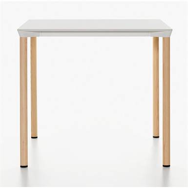 MONZA TABLE SQUARE H73 (PLANK) | Free BIM object for Revit | BIMobject