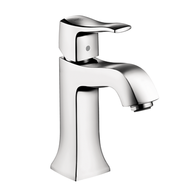 Metris Classic Single lever basin mixer 100 with pop-up waste set 31075001