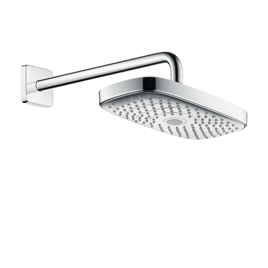 Raindance Select E Overhead shower 300 2jet with shower arm 27385000