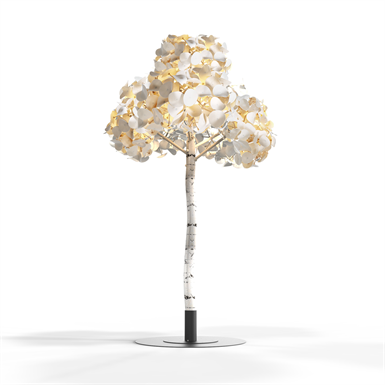 LEAF LAMP TREE 300 (Green Furniture Concept)   Free BIM object for
