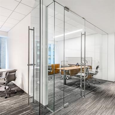 Gentil Interior Glass Walls DORMA PURE® Series