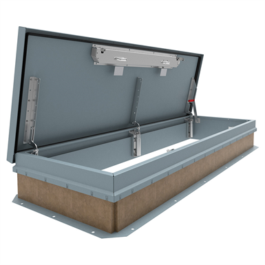 PERSONNEL ROOF HATCH (Nystrom) | Free BIM object for Revit | BIMobject