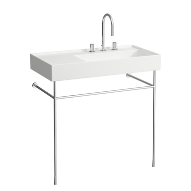 Kartell By Laufen Saphirkeramik.Kartell By Laufen Washbasin Shelf Right 900 Mm Laufen