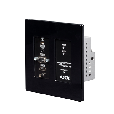 NMX-ENC-N2315-WP Wallplate Encoder N2300 Series 4K UHD Video Over IP Decor Style Wallplate Encoder with KVM, PoE