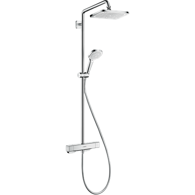Croma E Showerpipe 280 1jet EcoSmart 9 l/min with thermostat 27660000