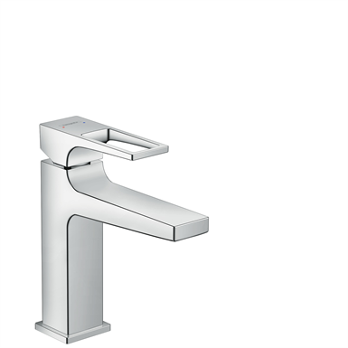 Metropol Single lever basin mixer 110 with loop handle and push-open waste set 74507000