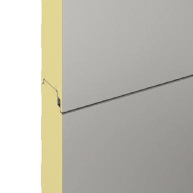 Smoothlambri wall panel