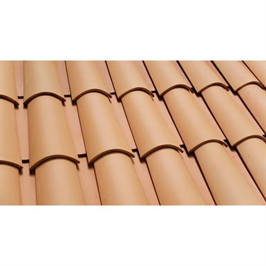 Barrel Roof Tile 45x20 Peach Cer 225 Mica Verea Free Bim