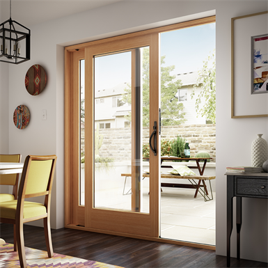 "Essence Series® French-Style Sliding Door, 1' 6"" to 12' 0"" Width, 6' 0"" to 8' 0"" Height"