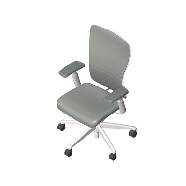 Zody Task Chair With Height Adjustable Arms