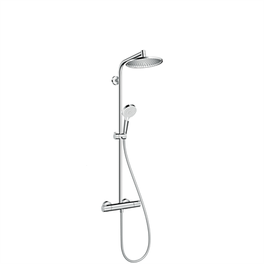 Crometta S Showerpipe 240 1jet with thermostat 27267000