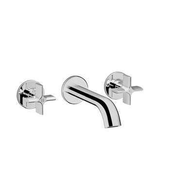 ARMANI - BAIA 3-hole built-in basin mixer with180 mm spout