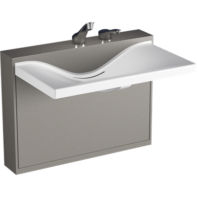 Z5002.01 Sundara™ Float Handwashing System, Single Basin