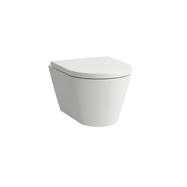 KARTELL BY LAUFEN Wall-hung WC 'compact', washdown, rimless