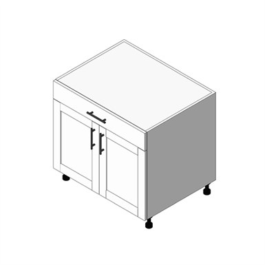 Base Cabinet 1 Drawer, 1 Door - Right Hand: (OBD)