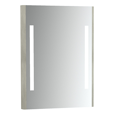 Emma Square Mirror with integrated light. 600x800 mm.