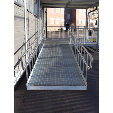 WHEELCHAIR RAMP ROUND BAR (Weland AB) | Free BIM object for Revit