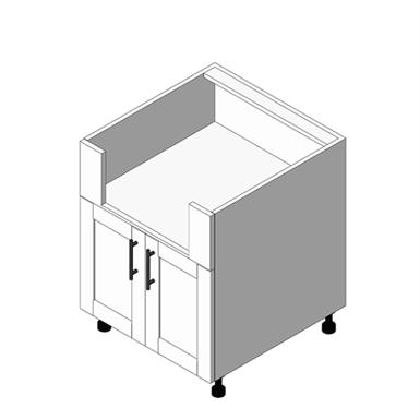 Appliance Cabinet Standard Burner Base - Drawers: (OBB)