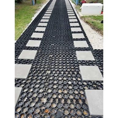 Deco Permeable Pavers Gravel Porous Paver Grass Porous Paving