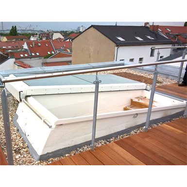 LAMILUX Flat Roof Exit Comfort Solo
