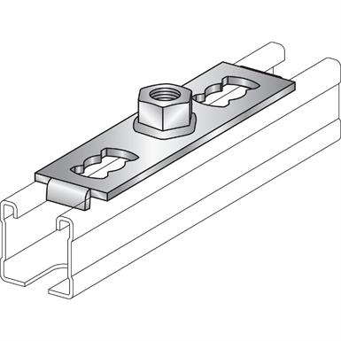BASE PLATE MQG-2 (Hilti) | Free BIM object for Revit, Revit | BIMobject