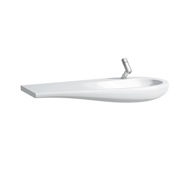 ILBAGNOALESSI ONE Countertop washbasin, shelf left 1200 mm