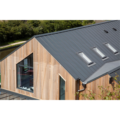 Catnic SSR2 SIPS - standing seam roof and wall cladding system