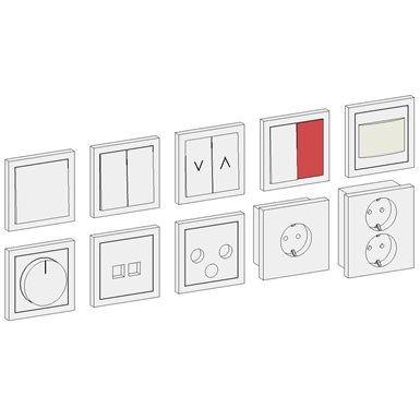 ELECTRICAL SOCKET - SINGLE (Solar Project) | Free BIM object for