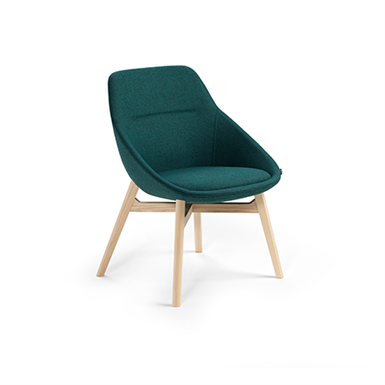 EZY WOOD LOW, CHAIR (Offecct) | Free BIM object for ArchiCAD
