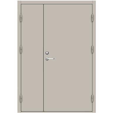 Steel Door Sde4210 Double Unequal Swedoor Jeld Wen Free Bim Object For Revit Revit Archicad Archicad Bimobject