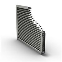 XP500 Aluminum Extreme Weather Louver
