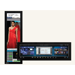 "MXD-1900L-PAN 19.4"" Modero® X Series Panoramic Wall Touch Panel, Designed Specifically for Dedicated Room Control"