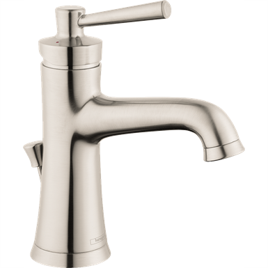 04773820 Joleena Single lever basin mixer 100 Eco with lever handle and pop-up waste set
