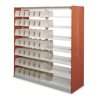 STATIC CANTILEVER SHELVING (Spacesaver Corporation) | Free BIM