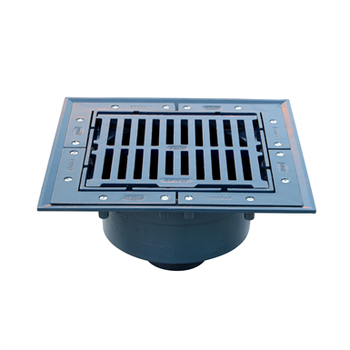 Z535 SQUARE TOP HEAVY-DUTY PARKING STRUCTURE DRAIN (Zurn Industries