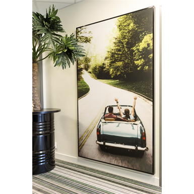 PRINT SOUND ABSORBING PICTURE