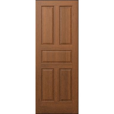 5 Panel Wood Door Interior Commercial