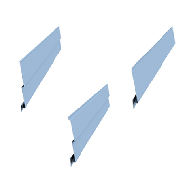 Montana - MONTASTEP® - Rebated Profiles for wall