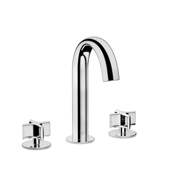 ARMANI - BAIA Deck-mounted 3-hole basin mixer