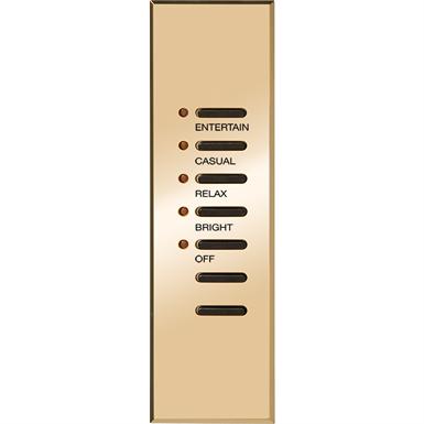 Antique Brass Architrave Light Switch /& Backbox