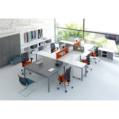 OGI bench elements for desks pairing
