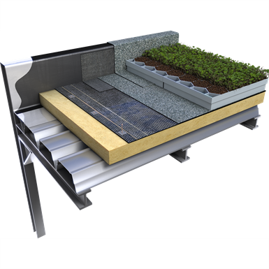 CITYFLOR®, GREEN ROOF SYSTEM (Axter) | Free BIM object for Revit