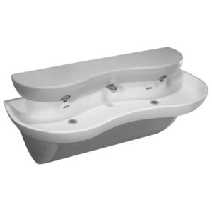 EW-72000 Two Station Solid Surface Lavatory