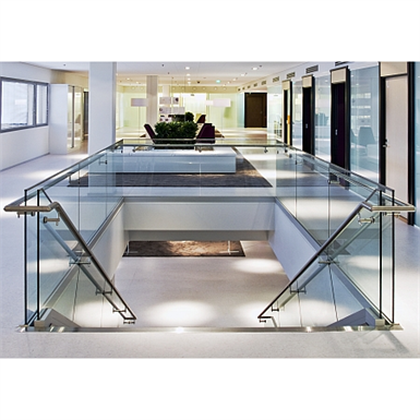 GLASS RAILINGS SYSTEM LK60 (Steelpro) | Free BIM object for Revit