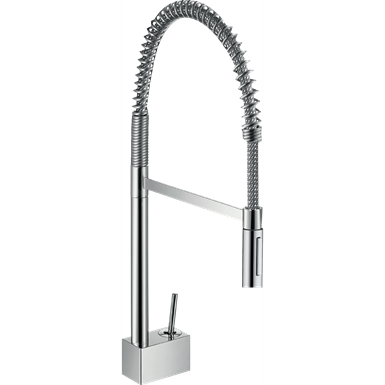 Axor Starck 2-Spray Semi-Pro Kitchen Faucet 10820001