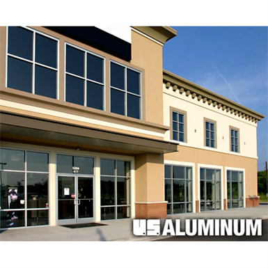 Series 450 Center Glaze Storefront System