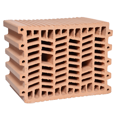 Termoarcilla® Thermal Insulating Clay Block, 24 cm
