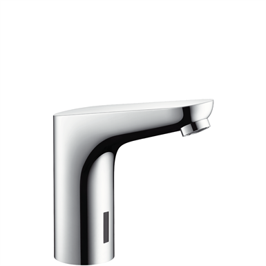 Focus Electronic basin mixer with temperature pre-adjustment mains connection 230 V 31174000