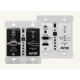 DX-TX-DWP DXLink™ Multi-Format Decor Style Wallplate Transmitters