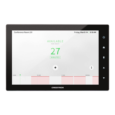 "10"" Room Scheduling Touch Screen - TSS-10-B/W-S"
